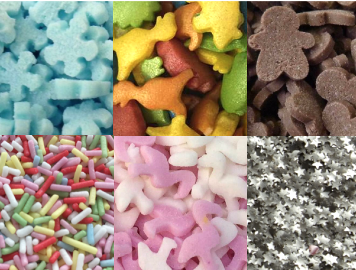 Sugar Shapes Sparkles Sprinkles