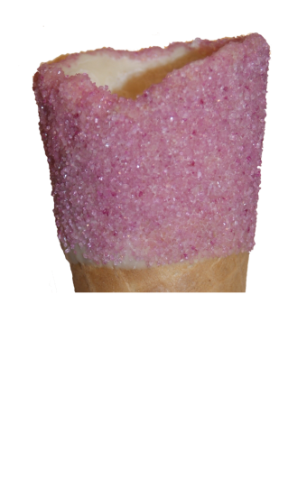Cotton Candy close up cone top
