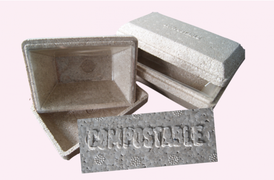 Compostable Take Home Packs Rectangular