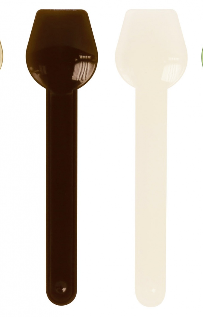 Compostable spoons for tubs