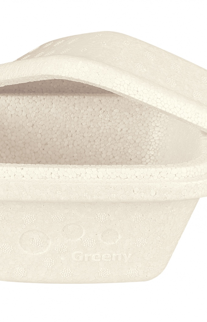 Compostable take away pack square