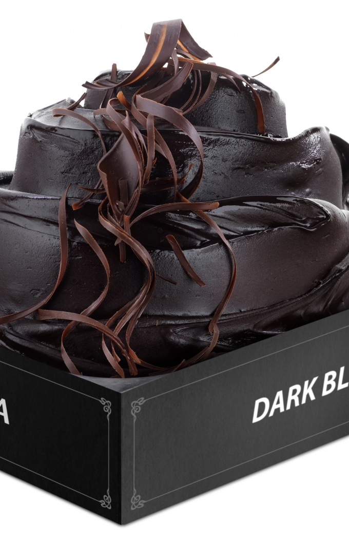 Vaschetta extra dark black 0383