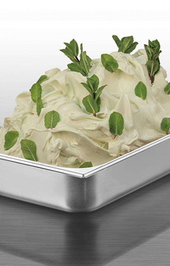 White mint
