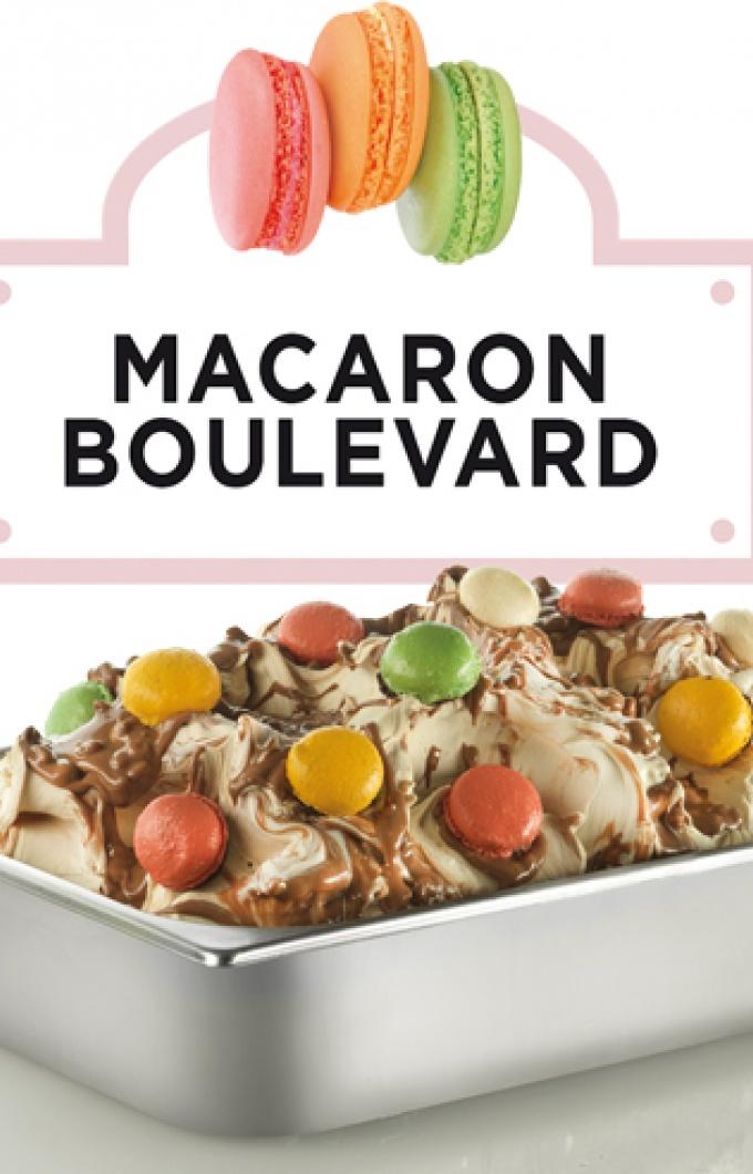 Macaron boulevard vaschetta logo