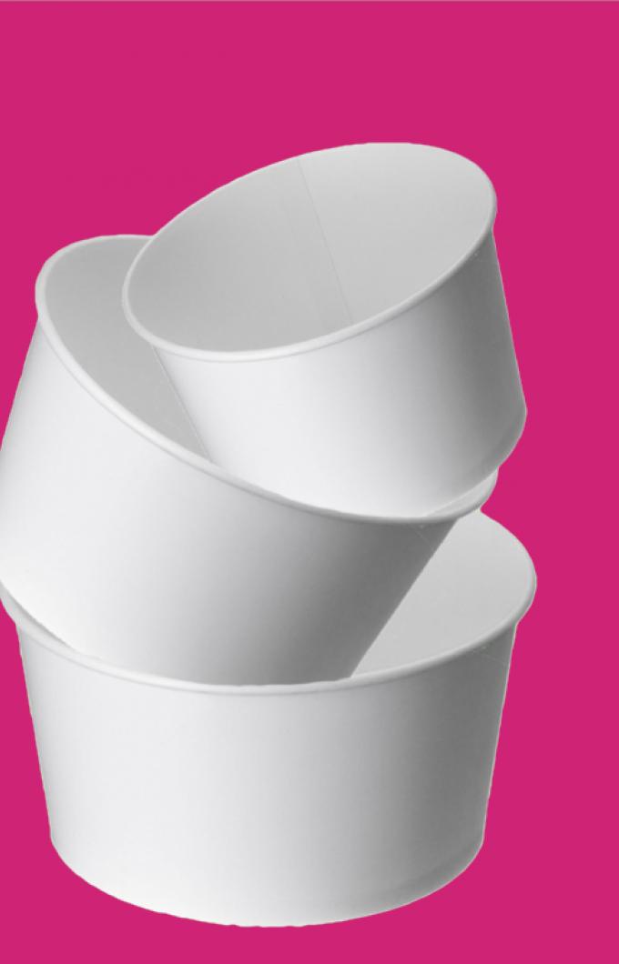 Tubs White Plain Pink Background