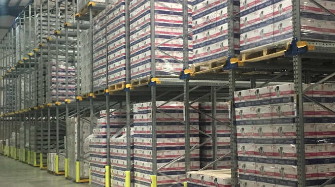 Warehouse closer to shelves