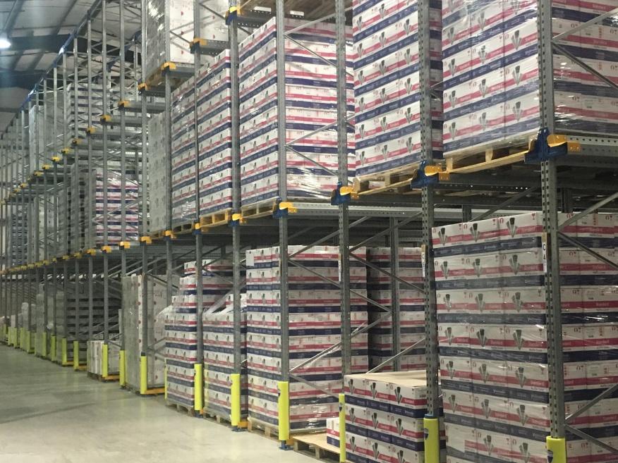 Warehouse closer to shelves