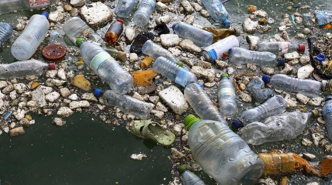 Plastic maldives beach clean up