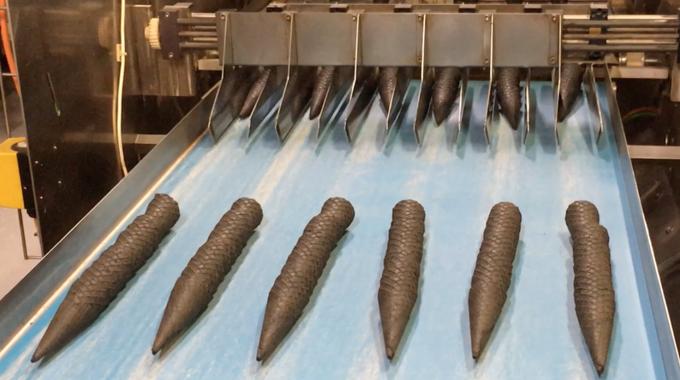 DAPPA Triple C waffle cones production line