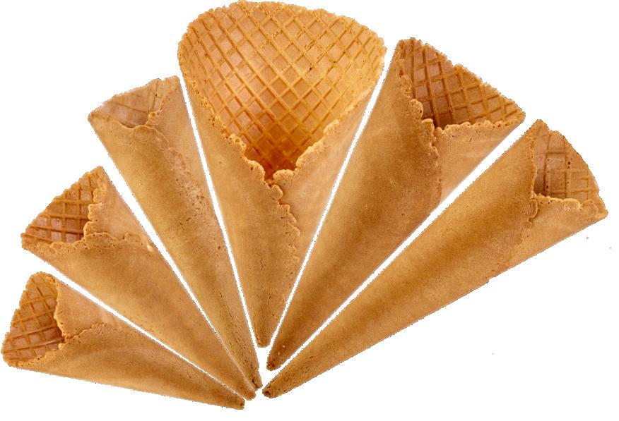 Smoothy waffle cones range fan