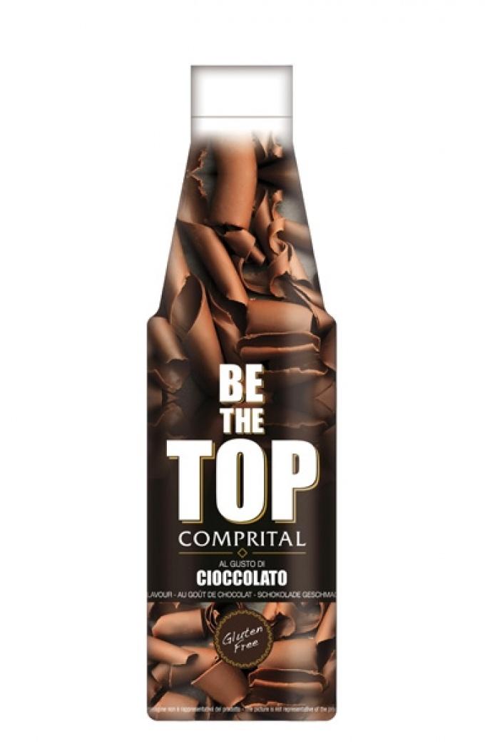 """Comprital """"Be the top"""" Topping sauce - Cioccolato"""