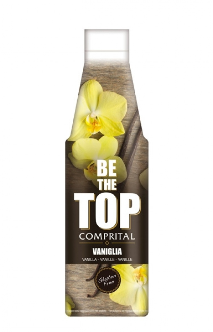 "Comprital ""Be the top"" Topping sauce - Vanilla"