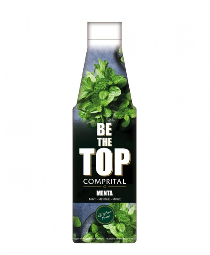 """Comprital """"Be the top"""" Topping sauce - mint"""