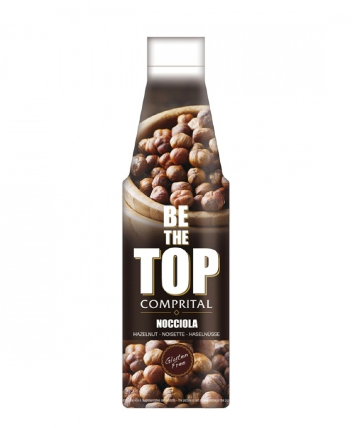 """Comprital """"Be the top"""" Topping sauce - Nocciola"""
